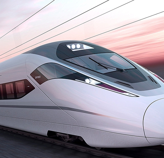 Precision parts for railway trains